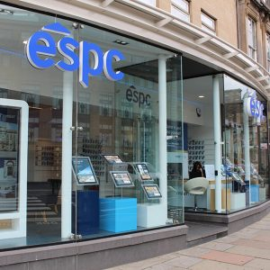 ESPC offices in George Street, Edinburgh
